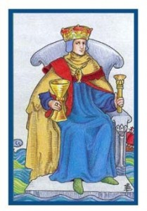 How Someone Sees You King Of Cups