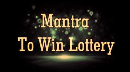 Mantra To Win Lottery